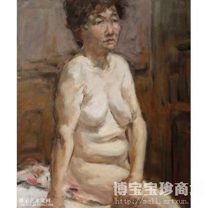 作品名称:  董林 人体 类别: 人物油画 作品交易编号: 138466-362254